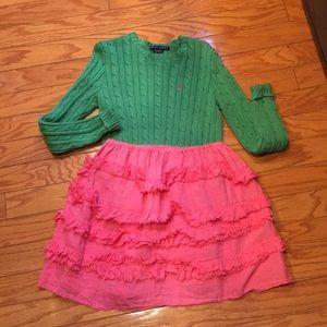 Hot pink Calvin Tran boutique skirt - M